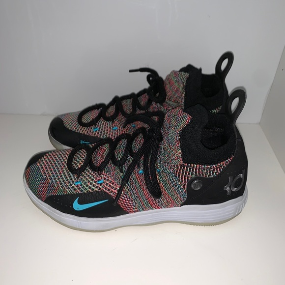 Nike Shoes   Kd 11s Multi Color Youth